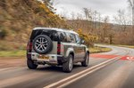 Land Rover Defender 2020 RHD rear tracking