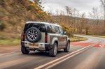 Land Rover Defender 2020 RHD rear tracking