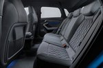 Audi A3 Sportback LHD rear seats