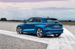 Audi A3 Sportback left rear static