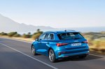 Audi A3 Sportback rear tracking