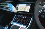 Audi RS Q8 touchscreens