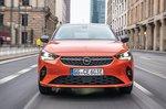 Vauxhall Corsa-e 2020 LHD head-on tracking