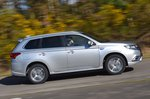 2020 Mitsubishi Outlander PHEV RHD right panning