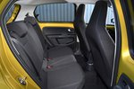 Volkswagen Up 2020 RHD rear seats