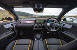 Mercedes A45 AMG 2020 RHD dashboard wide