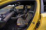 Mercedes A45 AMG 2020 RHD front seats