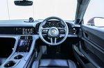 Porsche Taycan 2020 RHD dashboard