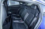 Porsche Taycan 2020 RHD rear seats
