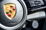 Porsche Taycan 2020 RHD dashboard detail