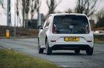 Volkswagen e-Up 2020 RHD rear tracking