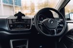Volkswagen e-Up 2020 RHD dashboard detail