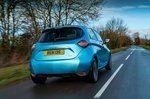 Renault Zoe 2021 RHD rear tracking