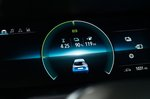 Renault Zoe 2020 RHD instruments detail