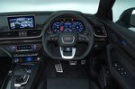 Audi SQ5 dashboard