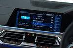 BMW X5 45e infotainment system - 69-plate car