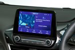 Ford Puma infotainment touchscreen - grey 69-plate car