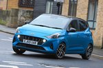 Hyundai i10 front cornering - 69 plate