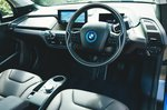 BMW i3 2018 front seat dashboard