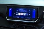 Peugeot 208 infotainment system - blue 69-plate car