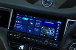 Porsche Macan S infotainment screen