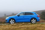 Audi SQ5 side panning - 69 plate