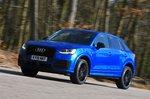 Audi Q2 2020 cornering