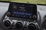 Nissan Juke infotainment screen