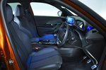 Peugeot 2008 front seats - orange 69-plate car