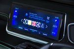 Peugeot 2008 infotainment screen - orange 69-plate car