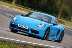 Porsche 718 Cayman T front cornering - 19-plate cars