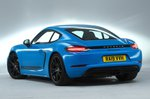 Porsche 718 Cayman T rear studio - 19-plate car