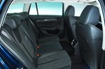 2020 Skoda Octavia Estate rear seats