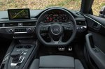 Audi A5 Coupe RHD dashboard