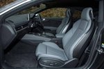 Audi A5 Coupe RHD front seats