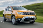 Dacia Duster 2020 RHD front right tracking