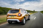 Dacia Duster 2021 RHD rear right tracking