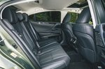Lexus ES rear seats - 68 plate