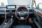 Lexus RX L dashboard - 69 plate
