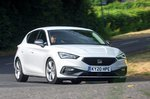 Seat Leon 2020 RHD front right tracking