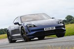 2020 Porsche Taycan front cornering