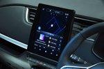 Renault Zoe infotainment screen