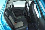 Renault Zoe rear seats