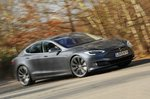 Tesla Model S front action - 69-plate car