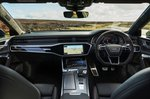 2020 Audi RS7 Sportback dashboard