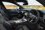 2020 Audi RS7 Sportback front seats