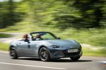 Mazda MX-5 2020 RHD front action