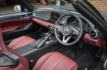 Mazda MX-5 2020 RHD seats