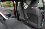 Hyundai i10 2020 rear seats