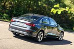 Audi A3 Saloon 2020 rear cornering